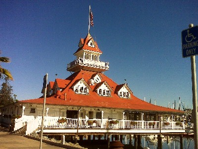 The Coronado Boathouse cleaned by Sky High Windows